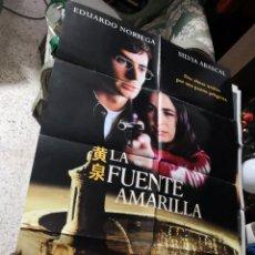 Cine: POSTER ORIGINAL DE CINE 70X100CM LA FUENTE AMARILLA. Lote 170289824