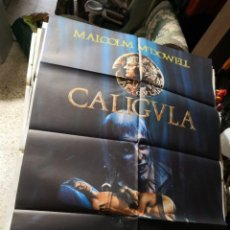 Cine: CALIGULA - POSTER CARTEL ORIGINAL - MALCOLM MCDOWELL HELEN MIRREN PETER O´TOOLE TINTO BRASS. Lote 170295672
