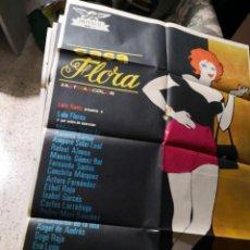 Cine: CASA FLORA LOLA FLORES POSTER ORIGINAL . Lote 170296048