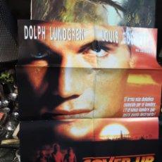 Cine: 2 POSTER CARTELES DE CINE. FUERZA VITAL Y COVER-UP RESCATE . Lote 170866010