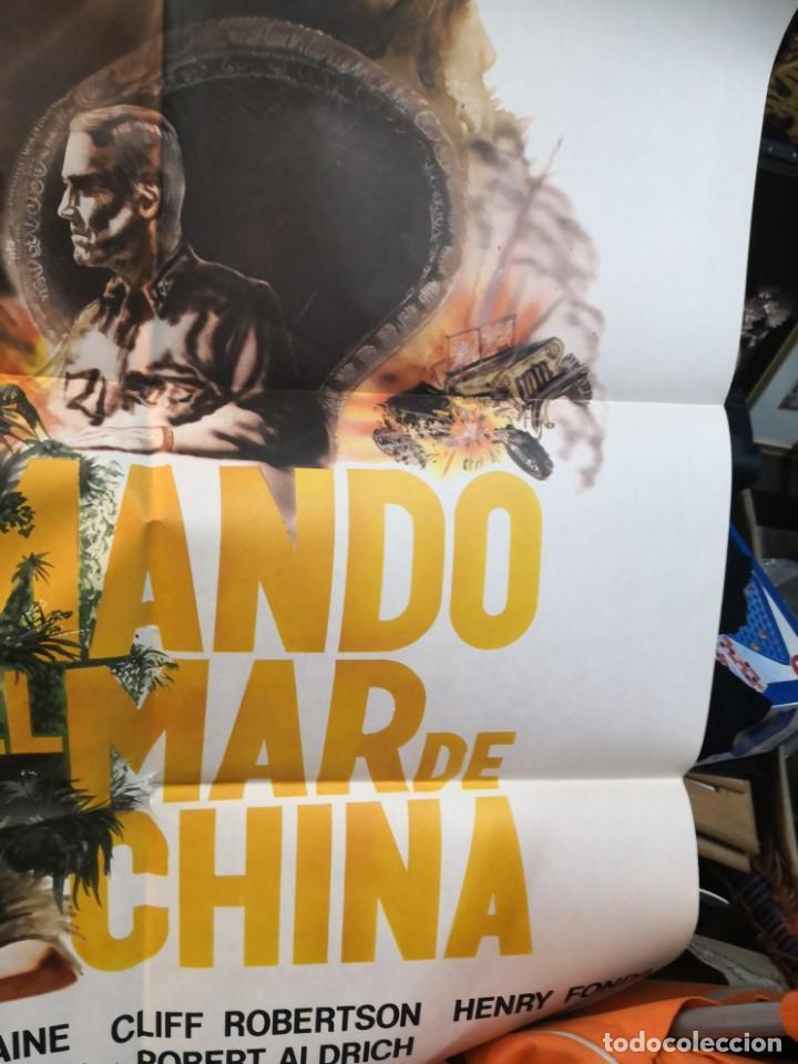 Cine: CARTEL DE CINE- MOVIE POSTER. COMANDO EN EL MAR DE China. Más regalo programa de cine - Foto 6 - 170868865