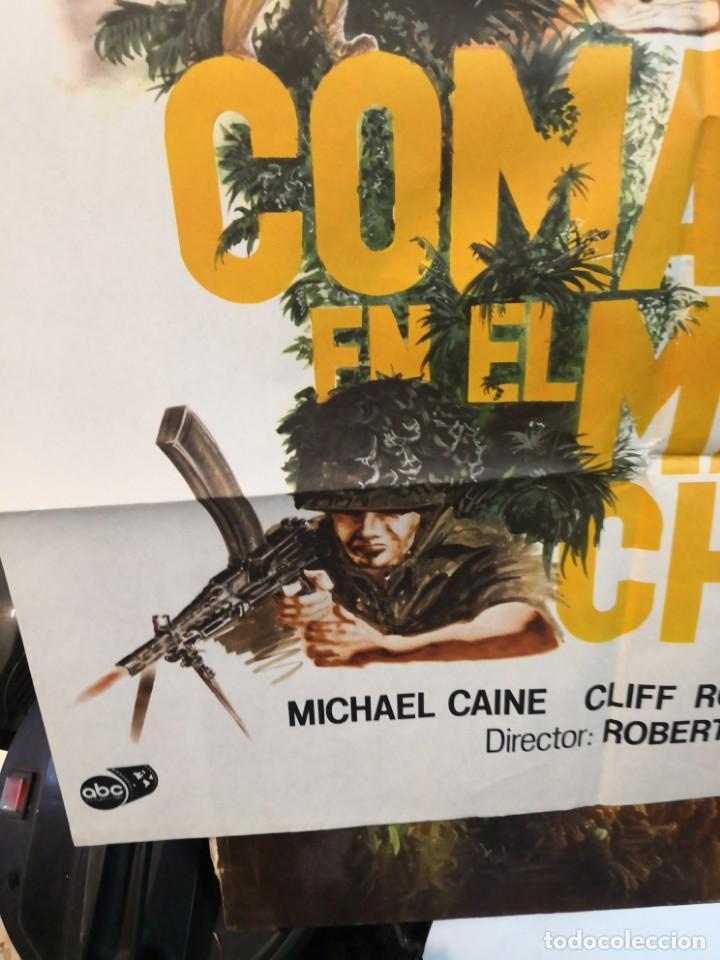 Cine: CARTEL DE CINE- MOVIE POSTER. COMANDO EN EL MAR DE China. Más regalo programa de cine - Foto 7 - 170868865