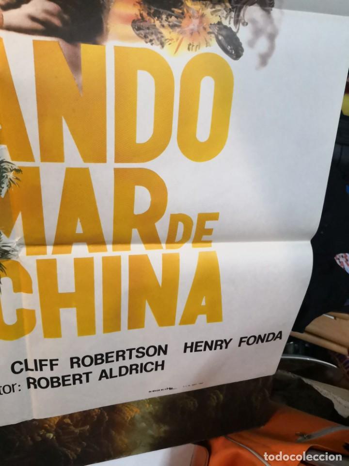 Cine: CARTEL DE CINE- MOVIE POSTER. COMANDO EN EL MAR DE China. Más regalo programa de cine - Foto 8 - 170868865