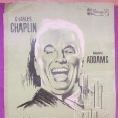 Cine: CARTEL CINE, UN REY EN NUEVA YORK, CHARLES CHAPLIN, DAWN ADDAMS, FILMAYER,. Lote 170946900