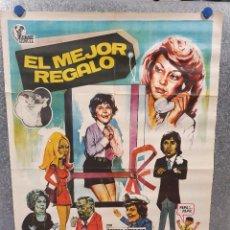 Cine: EL MEJOR REGALO.JORGE RIVERO,, TERESA GIMPERA AÑO 1973. POSTER ORIGINAL. Lote 171037432