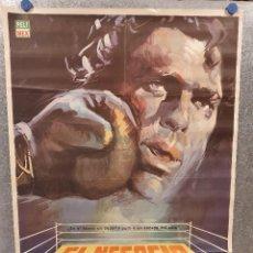 Cine: EL NEGOCIO DEL ODIO. DAVID REYNOSO, SONIA FURIO. BOXEO. AÑO 1973. POSTER ORIGINAL. Lote 171046788