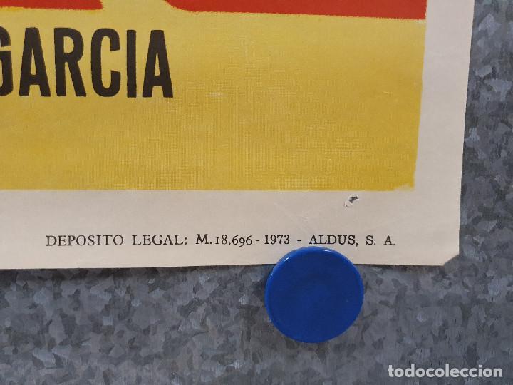 Cine: EL NEGOCIO DEL ODIO. DAVID REYNOSO, SONIA FURIO. BOXEO. AÑO 1973. POSTER ORIGINAL - Foto 5 - 171046788