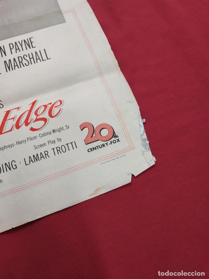 Cine: THE RAZORS EDGE - CARTEL / POSTER / FOLLETO DEL ESTRENO MUNDIAL - EL FILO DE LA NAVAJA - 1946 - Foto 2 - 171119264