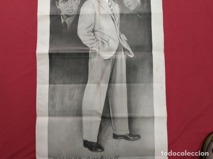 Cine: THE RAZORS EDGE - CARTEL / POSTER / FOLLETO DEL ESTRENO MUNDIAL - EL FILO DE LA NAVAJA - 1946 - Foto 7 - 171119264