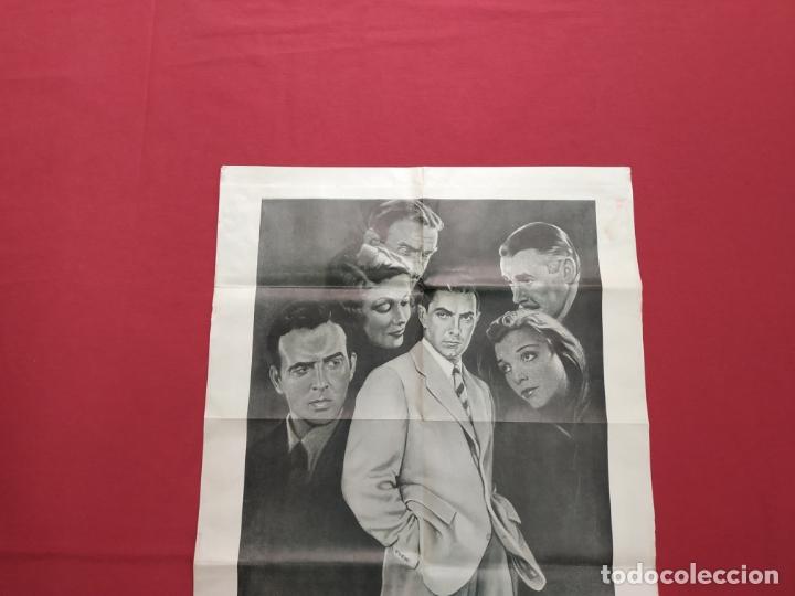 Cine: THE RAZORS EDGE - CARTEL / POSTER / FOLLETO DEL ESTRENO MUNDIAL - EL FILO DE LA NAVAJA - 1946 - Foto 9 - 171119264