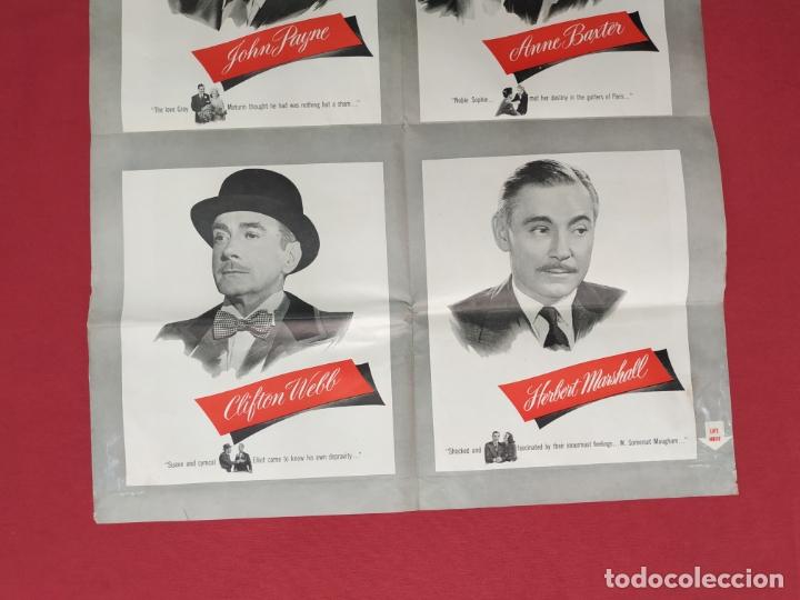 Cine: THE RAZORS EDGE - CARTEL / POSTER / FOLLETO DEL ESTRENO MUNDIAL - EL FILO DE LA NAVAJA - 1946 - Foto 16 - 171119264
