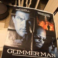 Cine: GLIMMER MAN STEVEN SEAGAL POSTER ORIGINAL 70X100. Lote 171132724