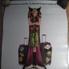 Cine: HOTEL TRANSILVANIA 3 - APROX 70X100 CARTEL ORIGINAL CINE (L64). Lote 171225348