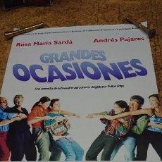 Cine: AFICHE CARTEL DE CINE GRANDES OCASIONES. Lote 171255190