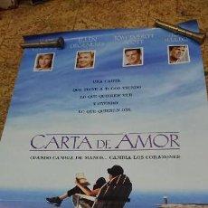 Cine: AFICHE CARTEL DE CINE CARTA DE AMOR . Lote 171256234