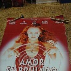 Cine: AFICHE CARTEL DE CINE AMOR EMBRUJADO . Lote 171256414