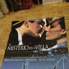 Cine: AFICHE CARTEL DE CINE EL MISTERIO DE LA VILLA . Lote 171256749