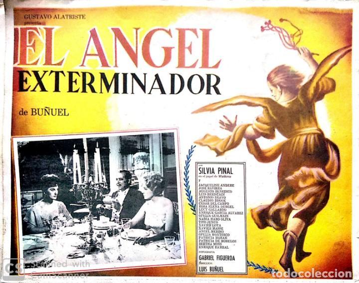 LUIS BUÑUEL. CARTEL-ANUNCIO DEL FILM 'EL ÁNGEL EXTERMINADOR' (1962). 43X32 CMS. (Cine- Posters y Carteles - Drama)