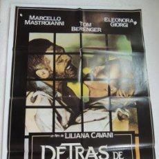 Cine: DETRAS DE LA PUERTA - POSTER CARTEL ORIGINAL CINE - M MASTROIANNI LILIANA CAVANI ELEONORA GIORGI. Lote 171731678