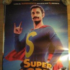 Cine: SUPERLOPEZ - APROX 70X100 CARTEL ORIGINAL CINE (L65). Lote 172025674