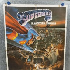 Cine: SUPERMAN II. CHRISTOPHER REEVE. AÑO 1980 POSTER ORIGINAL. Lote 187389475