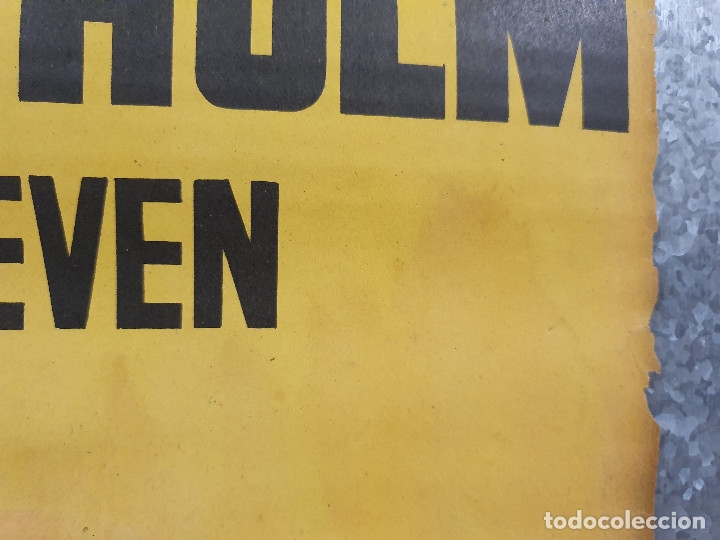 Cine: LILI MARLEEN. Adrian Hoven Marianne Hold Claus Holm. POSTER ORIGINAL LITOGRAFIA - Foto 4 - 172170929