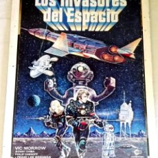 Cinéma: ANTIGUO CARTEL DE LA PELÍCULA LOS INVASORES DEL ESPACIO - 31X24CM / 1978. Lote 172427775