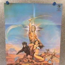 Cine: THE BEASTMASTER, EL SEÑOR DE LOS BESTIAS, MARC SINGER, TANYA ROBERTS. AÑO 1982. POSTER ORIGINAL. Lote 172829638