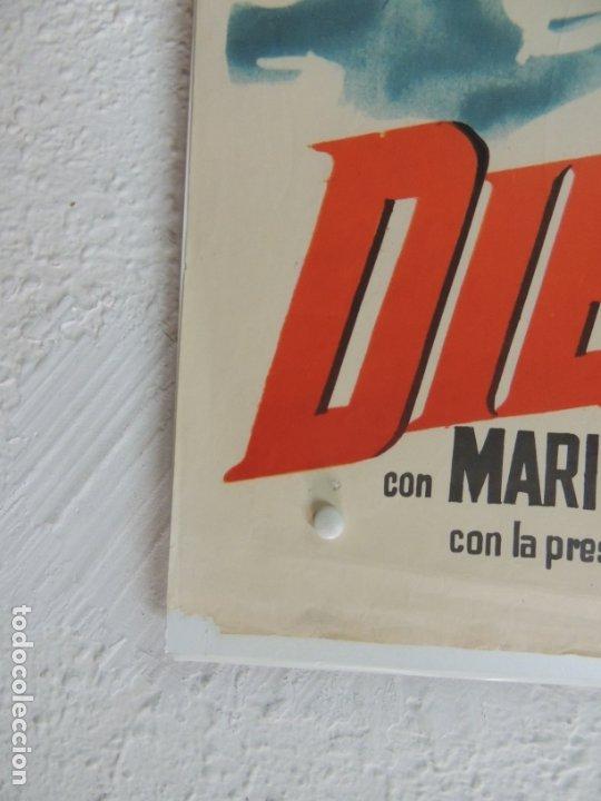 Cine: diego corrientes - poster cartel original estreno - Antonio Isasi-Isasmendi José Suárez - Foto 4 - 172851590