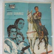 Cine: DIEGO CORRIENTES - POSTER CARTEL ORIGINAL ESTRENO - ANTONIO ISASI-ISASMENDI JOSÉ SUÁREZ. Lote 172851590