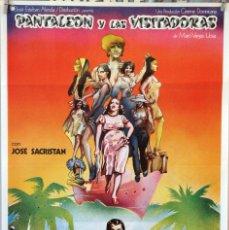 Cine: PANTALEÓN Y LAS VISITADORAS. JOSÉ SACRISTÁN. CARTEL ORIGINAL 1977. Lote 172858437