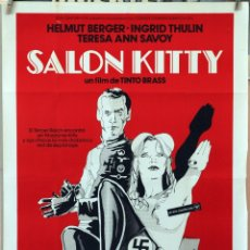 Cine: SALÓN KITTY. HELMUT BERGER-INGRID THULIN-TINTO BRASS. CARTEL ORIGINAL 1978. 70X100. Lote 172872765