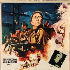 Cine: LOS HÉRPES DE TELEMARK. KIRK DOUGLAS-RICHARD HARRIS. CARTEL ORIGINAL 1965. 70X100. Lote 172921422