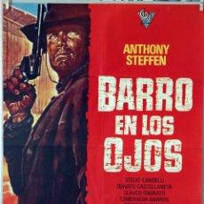 Cine: BARRO EN LOS OJOS. EDWARD MULLER. CARTEL ORIGINAL 1974. 70X100. Lote 173037970