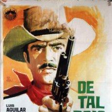 Cine: DE TAL PALO TAL ASTILLA. MIGUEL DELGADO. CARTEL ORIGINAL 1969. 70X100. Lote 173041180