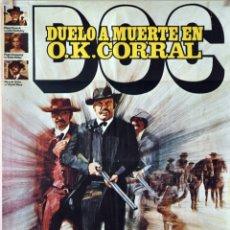 Cine: DUELO A MUERTE EN O.K. CORRAL. FAYE DUNAWAY. CARTEL ORIGINAL ESTRENO 1972. 70X100. Lote 173041458