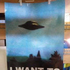 Cine: POSTER I WANT TO BELIEVE. Lote 173446507
