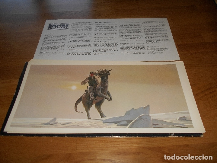 Cine: LA GUERRA DE LAS GALAXIAS. Star Wars.Empire Strikes black. Ralph Mcquarrie portfolio. - Foto 5 - 173521673