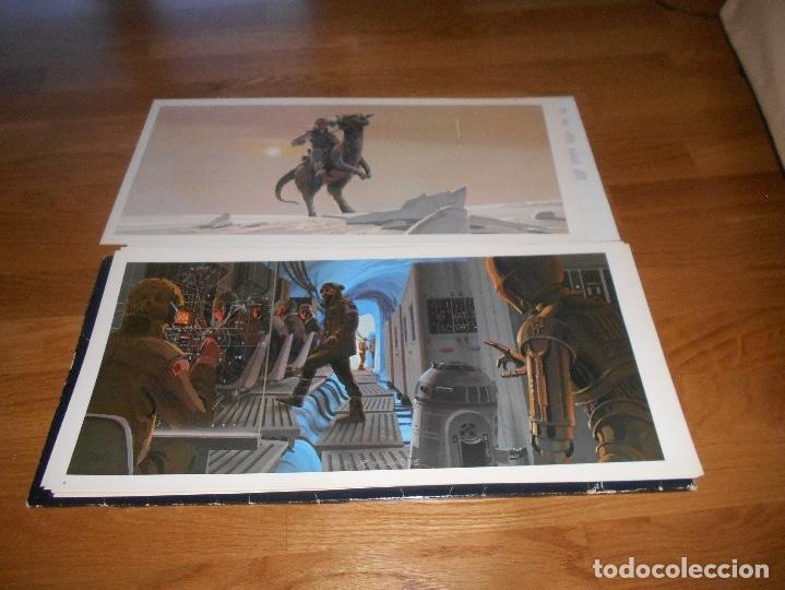 Cine: LA GUERRA DE LAS GALAXIAS. Star Wars.Empire Strikes black. Ralph Mcquarrie portfolio. - Foto 6 - 173521673