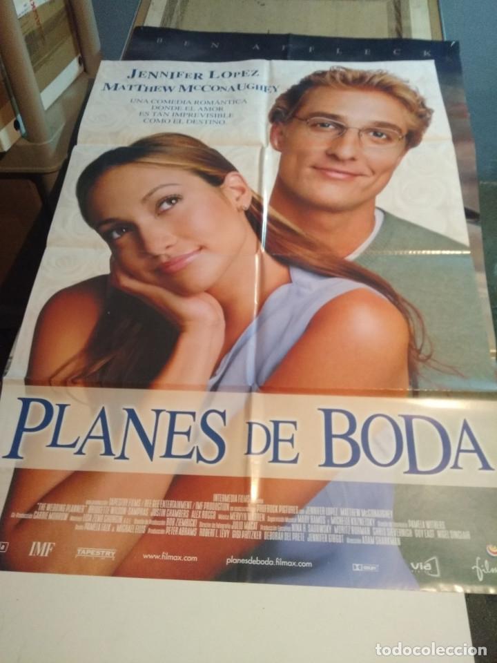 POSTER CINE : PLANES DE BODA ( JENNIFER LOPEZ ) (Cine - Posters y Carteles - Comedia)