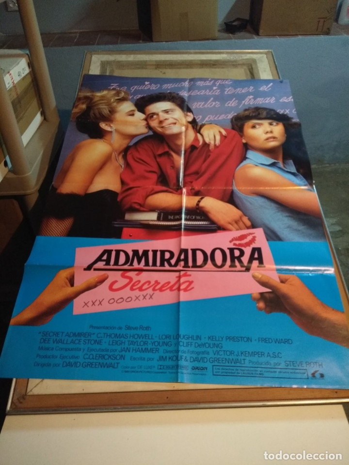POSTER CINE : ADMIRADORA SECRETA ( C. THOMAS HOWELL ) (Cine - Posters y Carteles - Comedia)
