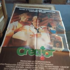Cine: POSTER CINE : CREATOR ( PETER O' TOOLER, MARIEL HEMINGHWAY ). Lote 173531009