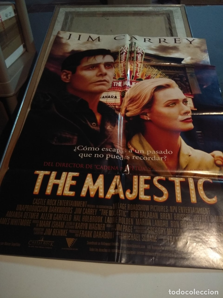 POSTER CINE : THE MAJESTIC ( JIM CARREY ) (Cine - Posters y Carteles - Comedia)