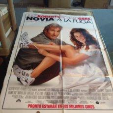 Cine: POSTER CINE : NOVIA A LA FUGA ( JULIA ROBERTS, RICHAR GERE ). Lote 173531380