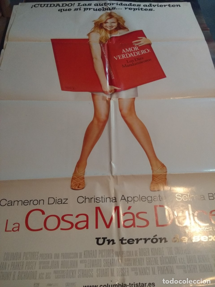 POSTER CINE : LA COSA MAS DULCE ( CAMERON DIAZ ) (Cine - Posters y Carteles - Comedia)