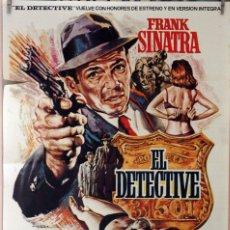 Cine: EL DETECTIVE. FRANK SINATRA-LEE REMICK-JACQUELINE BISSET. CARTEL ORIGINAL 1976. 70X100. Lote 173567753
