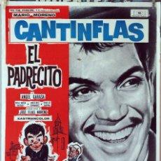 Cine: EL PADRECITO. CANTINFLAS. CARTEL ORIGINAL 1965. 70X100. Lote 173595182