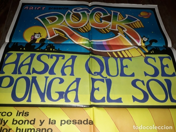 Cine: Afiche, Rock hasta que se ponga el Sol. Sui generis, Pappo, Giecco, Vox dei, Nebbia, Arco iris, - Foto 3 - 173605693