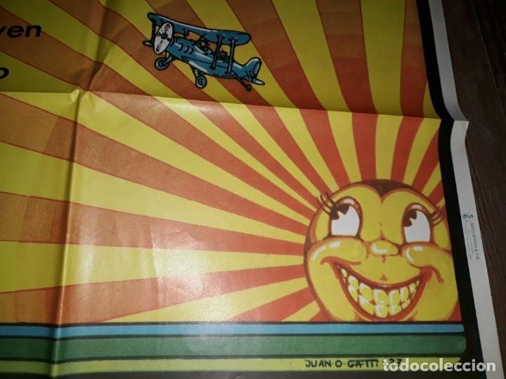 Cine: Afiche, Rock hasta que se ponga el Sol. Sui generis, Pappo, Giecco, Vox dei, Nebbia, Arco iris, - Foto 4 - 173605693