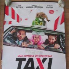 Cine: TAXI A GIBRALTAR - APROX 70X100 CARTEL ORIGINAL CINE (L66). Lote 173679292